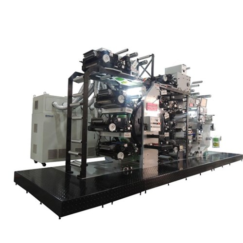 7 Color Auto Full Rotary Letterpress Label Printing Machine