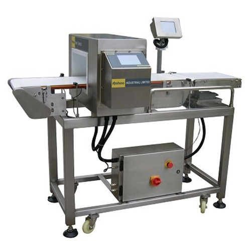 Combo Of Metal Detector And Check Weigher
