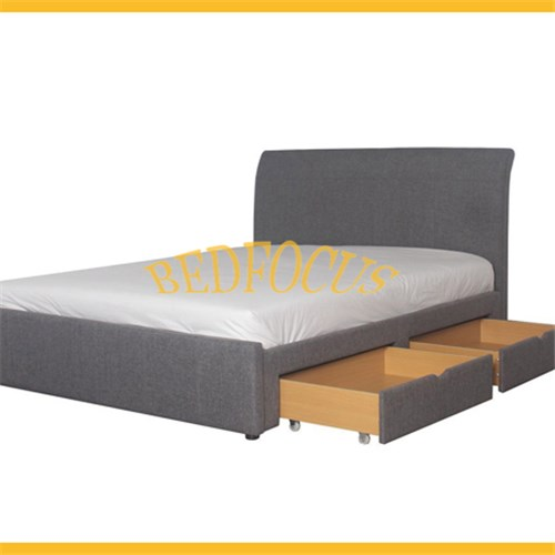 Storage Fabric Bed