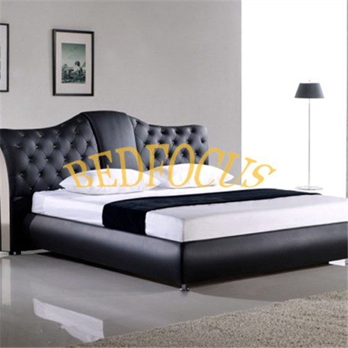 Artificial PU Leather Bed Bed-P-119