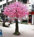 artificial peach flower tree