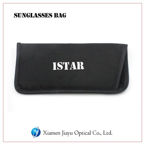 Logo Printed Sunglasses Bag