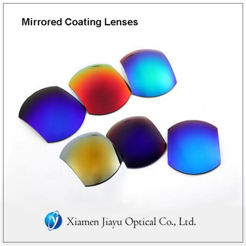Mirrored Coating Lenses