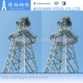4 Legged Telecommunication Steel Tower